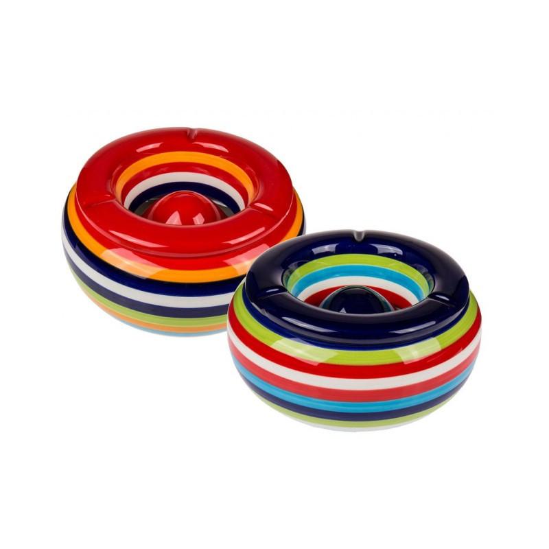 Grossiste cendrier multicolore xxl