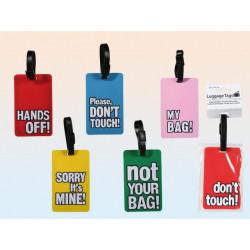 Grossiste etiquette bagage humoristique anglais