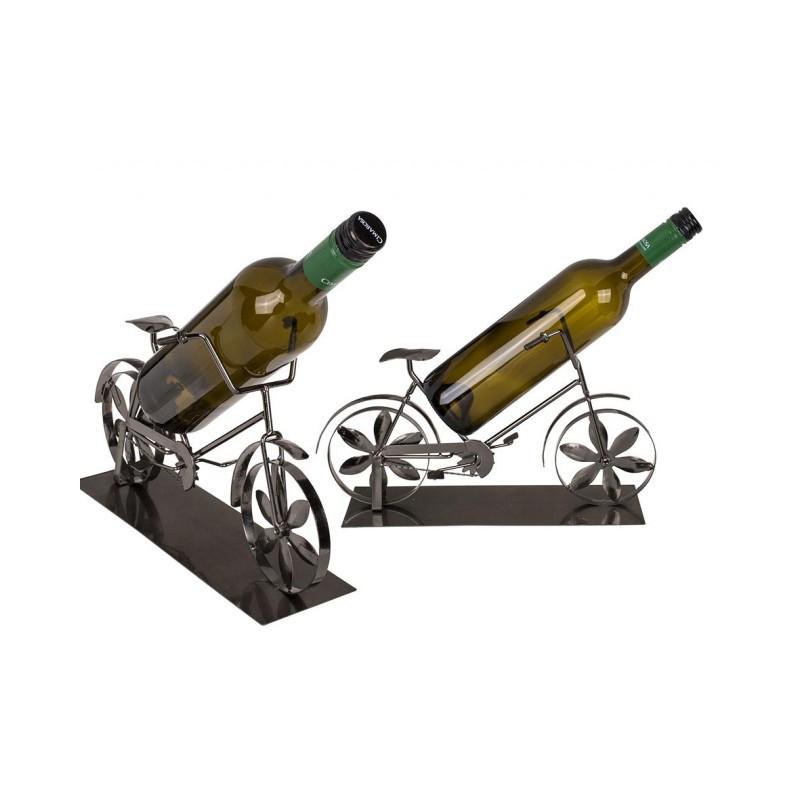 Grossiste support pour bouteille en métal forme de vélo