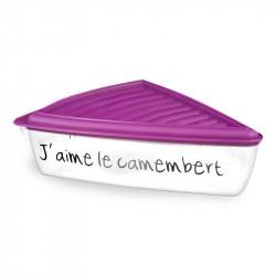 Grossiste et fournisseur. Boîte à fromage portion violet