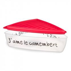 Grossiste et fournisseur. Boîte à fromage portion rouge