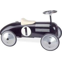 Porteur voiture vintage noir