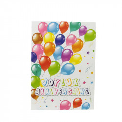 Grossiste invitation d'anniversaire avec enveloppe x6