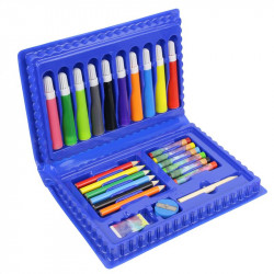Grossiste mallette de coloriage bleue