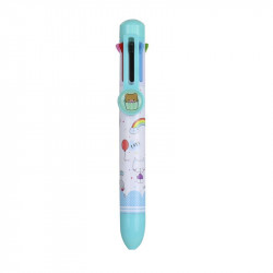 Grossiste stylo 8 couleurs turquoise
