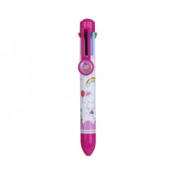 Grossiste stylo 8 couleurs rose