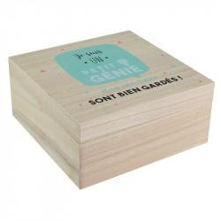 Boîte carrée pour enfant x2
