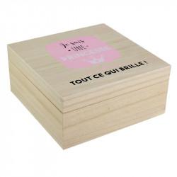Grossiste boîte carrée pour enfant x2