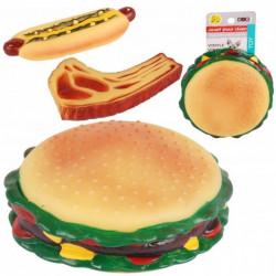 Dog vinyl squeak toy -...