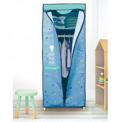 Grossiste armoire à dressing bleue 149x43x58cm