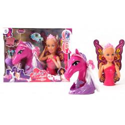 Grossiste Melody et son cheval à coiffer
