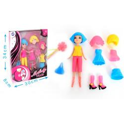 Boîte poupée articulée avec...