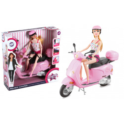 Boîte melody et son scooter