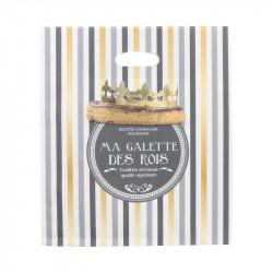 Grossiste sac à galette en papier doré
