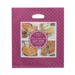 Grossiste sac à galette en papier rose