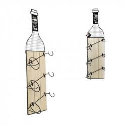 Porte-bouteille de vin x3