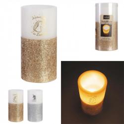 Grossiste bougie LED en forme de licorne 15x7.5cm
