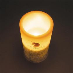Bougie LED en forme de licorne 15x7.5cm