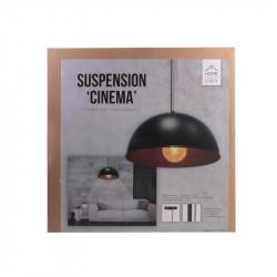 Grossiste suspension de cinéma noire avec un intérieur cooper