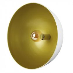 Grossiste suspension de cinéma blanche avec un intérieur doré