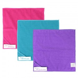 Microfiber cleaning cloth x3
