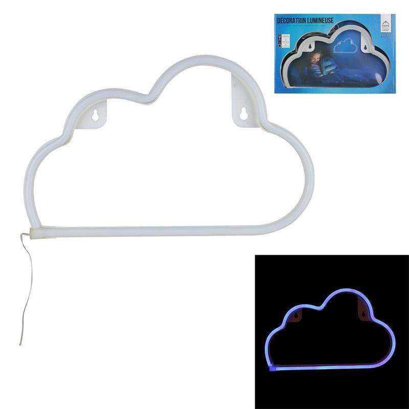 Grossiste applique en forme de nuage à néon