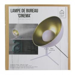 """Grossiste lampe de bureau blanche style """"Cinéma"""""""