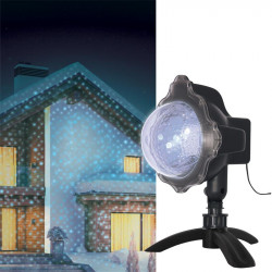 Grossiste projecteur à LED bleue motif neige
