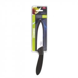 Grossiste et fournisseur. Couteau céramique 12,5 cm manche soft avec étui