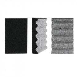 Grossiste et fournisseur. Éponge spéciale grilles de cuisson noir et gris