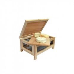 Wooden cheese storage chest