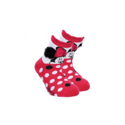 Grossiste chaussettes antidérapantes minnie assortiment 3