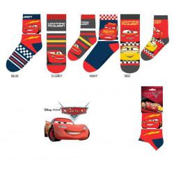 Grossiste chaussettes cars 3 disney assortiment 2