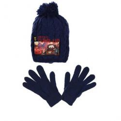 Grossiste ensemble bonnet et gants en laine cars disney