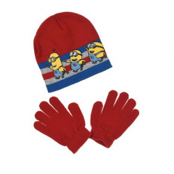 Grossiste ensemble bonnet et gants les minions assortiment 1