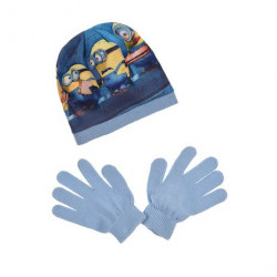 Grossiste ensemble bonnet et gants les minions assortiment 2