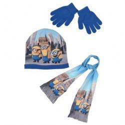 bonnet et gants les minions