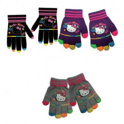 Grossiste gants en laine hello kitty assortiment 1