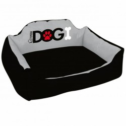 Dog lounge bed made of...