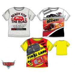 Grossiste t-shirt 100% coton manches courtes cars 3 disney