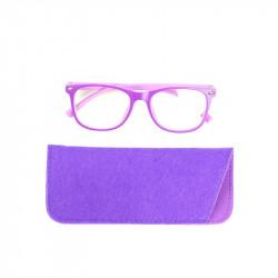 Grossiste lunette avec reflet bleu pour enfant violette