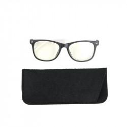 Grossiste lunette avec reflet bleu pour enfant noire