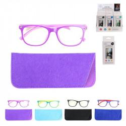 Grossiste lunette avec reflet bleu pour enfant