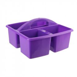 Grossiste bac de nettoyage à 3 compartiments violets