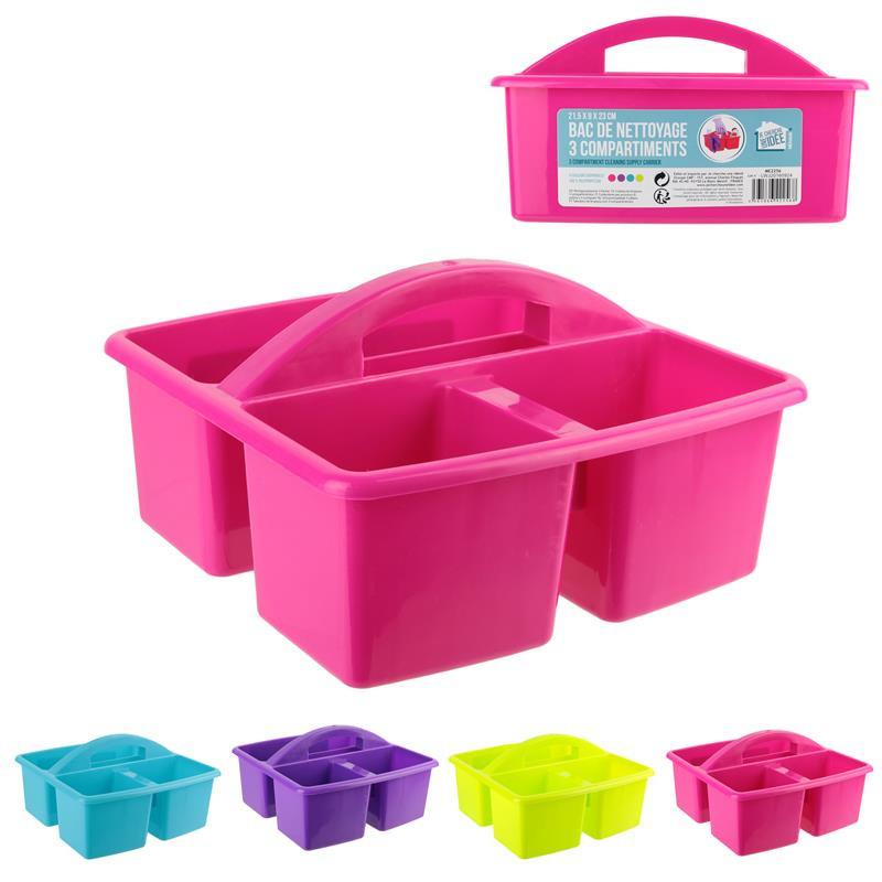 Grossiste bac de nettoyage à 3 compartiments