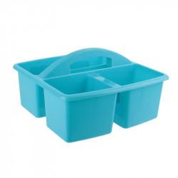Grossiste bac de nettoyage à 3 compartiments bleus