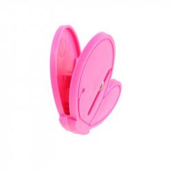 Grossiste pince à linge fantaisie x10 rose