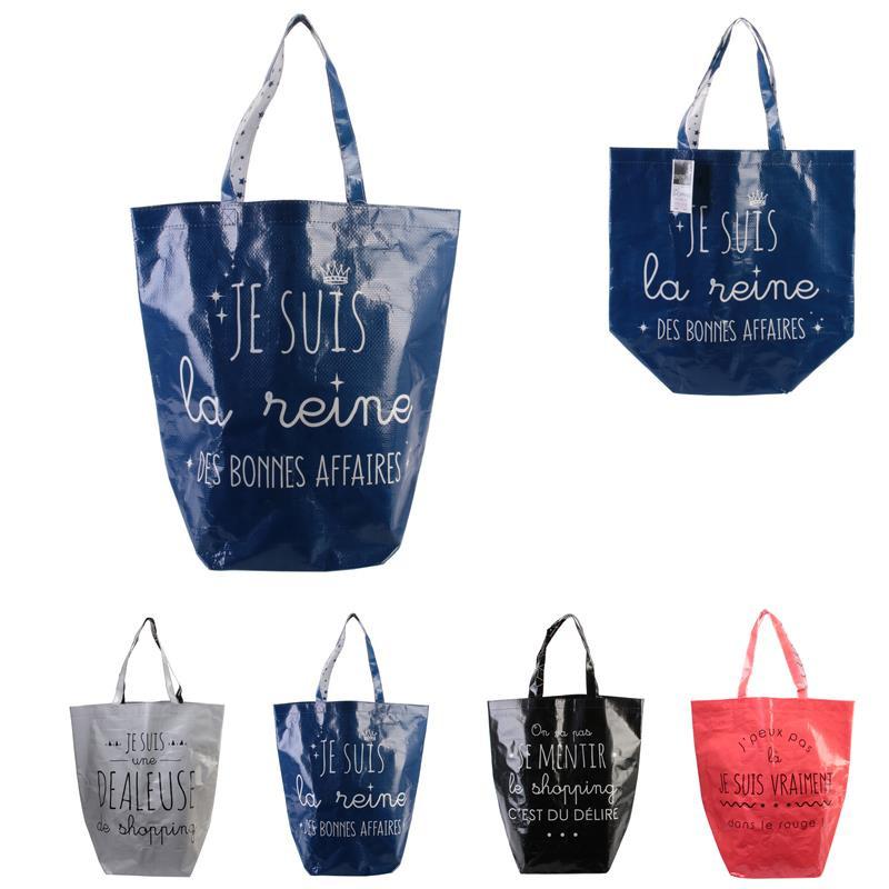 Grossiste sac shopping 44x45x22cm