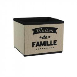 Grossiste cube de rangement 3L beige