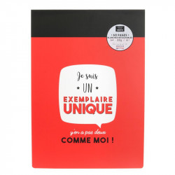 Grossiste bloc-notes A4 60 pages rouge